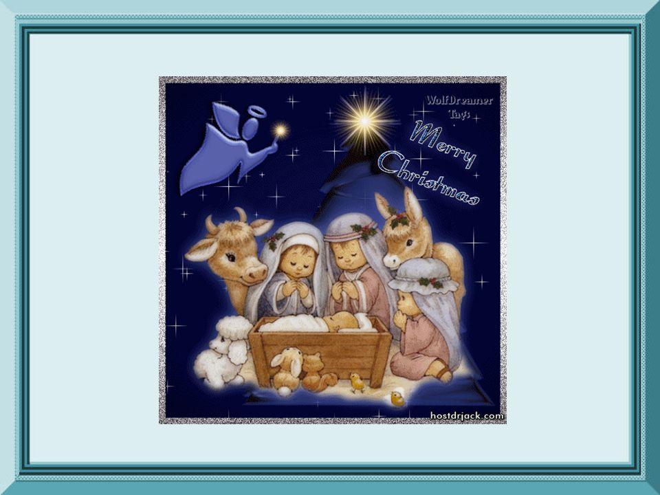 Risplende d'un astro divino La notte che già fu sì buia. È nato il Sovrano Bambino. È nato! Alleluja!