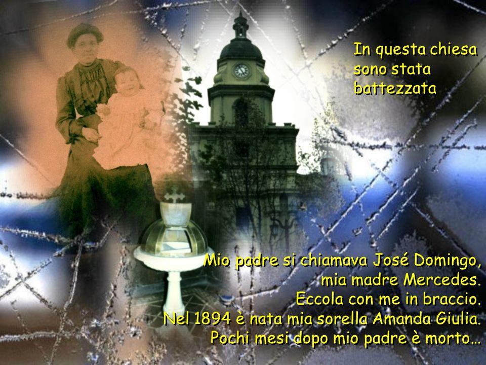 Sono nata il 5 aprile 1891 a Santiago del Cile.
