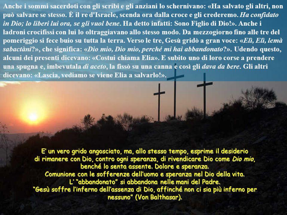 Mentre uscivano, incontrarono un uomo di Cirene, chiamato Simone, e lo costrinsero a prender su la croce di lui. Giunti a un luogo detto Gòlgota, che