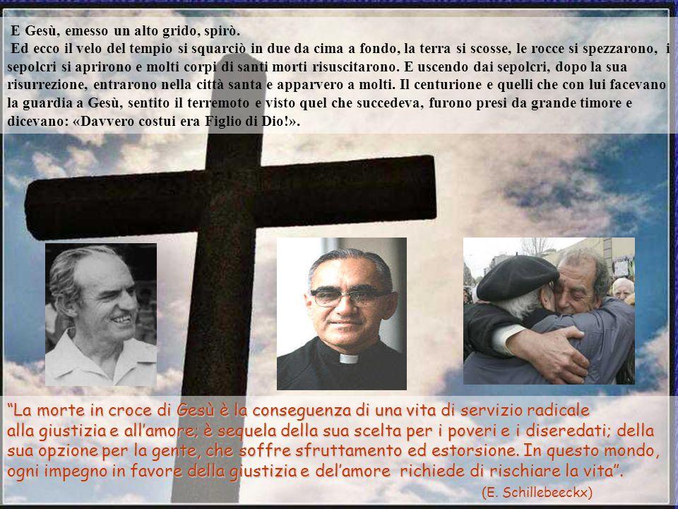 Anche i sommi sacerdoti con gli scribi e gli anziani lo schernivano: «Ha salvato gli altri, non può salvare se stesso. È il re d'Israele, scenda ora d