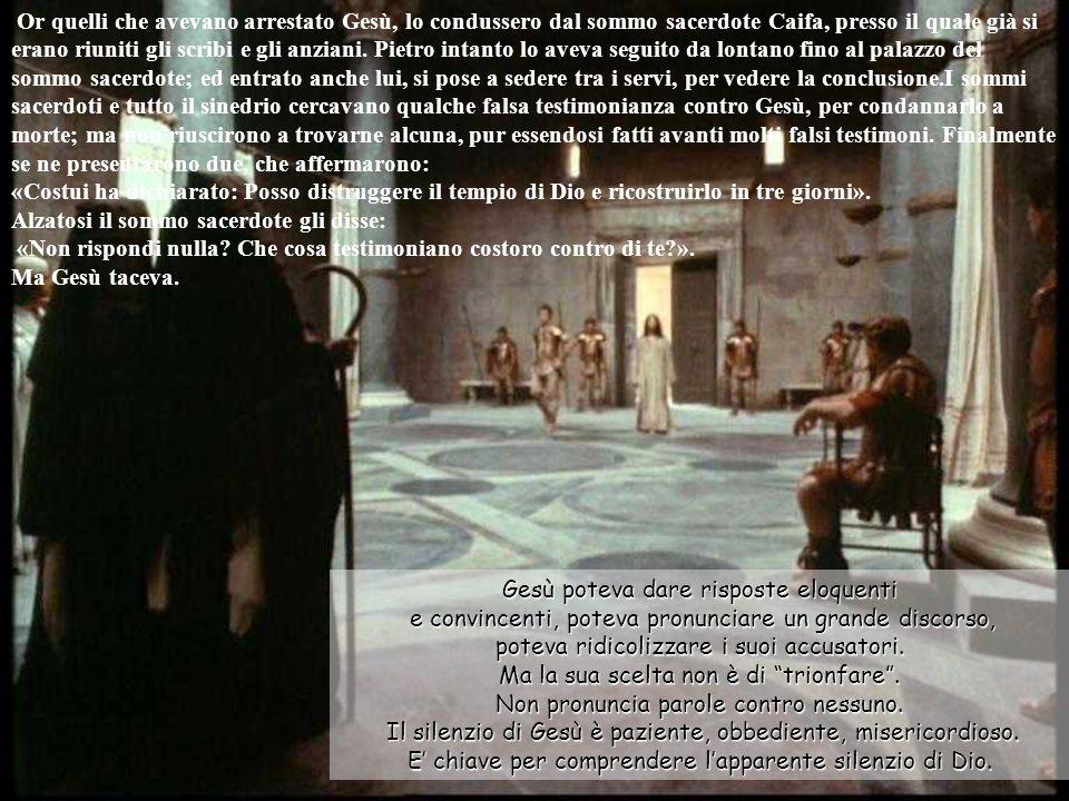 Il giorno seguente, quello dopo la Parasceve, si riunirono presso Pilato i sommi sacerdoti e i farisei, dicendo: «Signore, ci siamo ricordati che quell impostore disse mentre era vivo: Dopo tre giorni risorgerò.