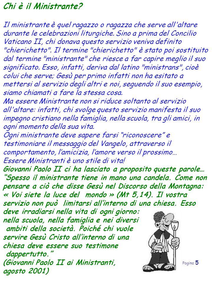 Pagina 6 Gli oggetti liturgici Cosa sarà mai questo turibolo , o il famigerato manutergio , che cos'e la palla .