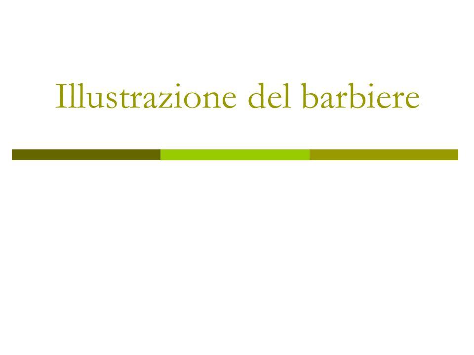 Illustrazione del barbiere