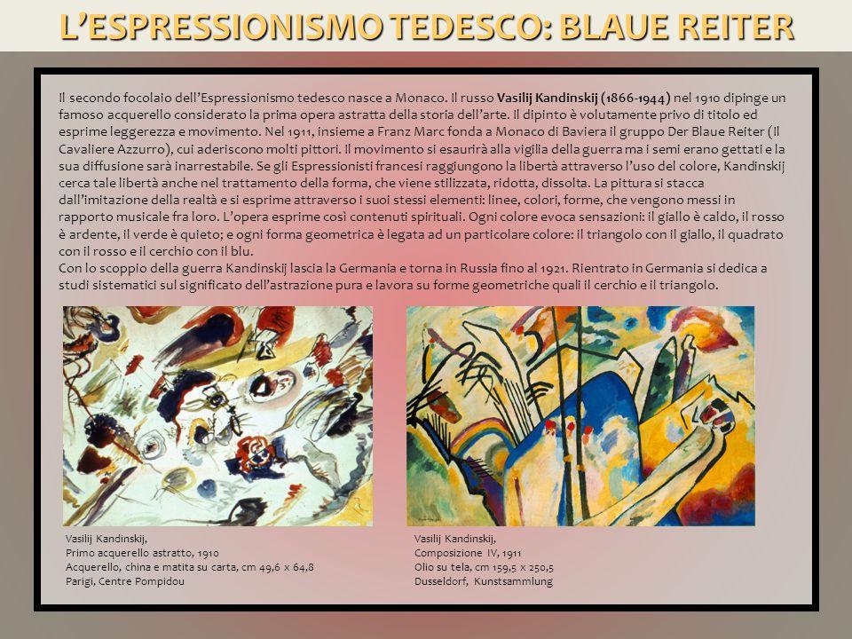 L'ESPRESSIONISMO AUSTRIACO: SCHIELE Altra personalità complessa è Egon Schiele (1890-1918), che nel 1906 si iscrisse all Accademia di Belle Arti di Vienna ed ebbe come maestro Gustav Klimt.