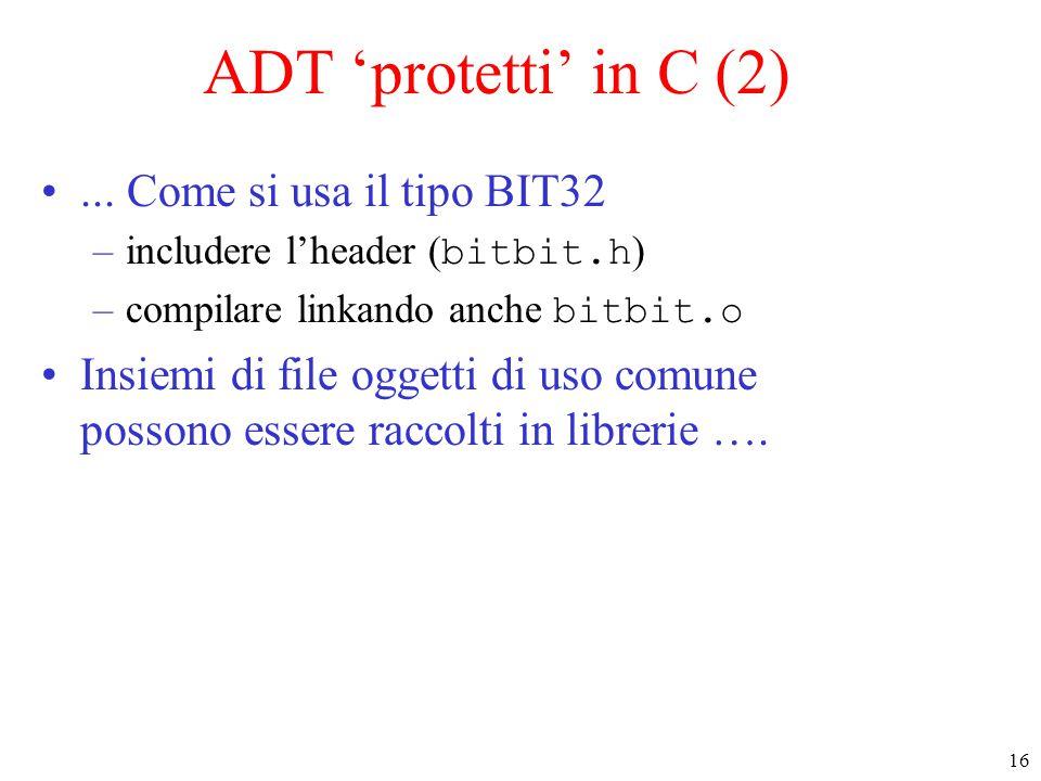 16 ADT 'protetti' in C (2)...