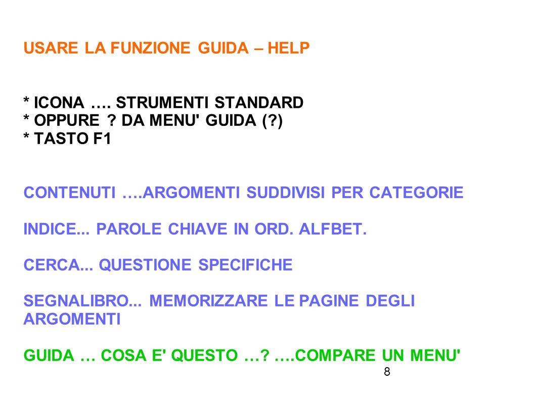 29 APRIRE IL FILE 4.4.1.4 FOGLIO RELATIVO – ASSOLUTO -MISTO PER RIFERIMENTO ASSOLUTO: DIGITARE RIFERIMENTO RELATIVO SHIFT+ F4 PER RIFERIMENTO MISTO: DIGITARE RIFERIMENTO RELATIVO SHIFT+ F4- ASSOL SHIFT+F4- MISTO SHIFT+F4- RELATIVO