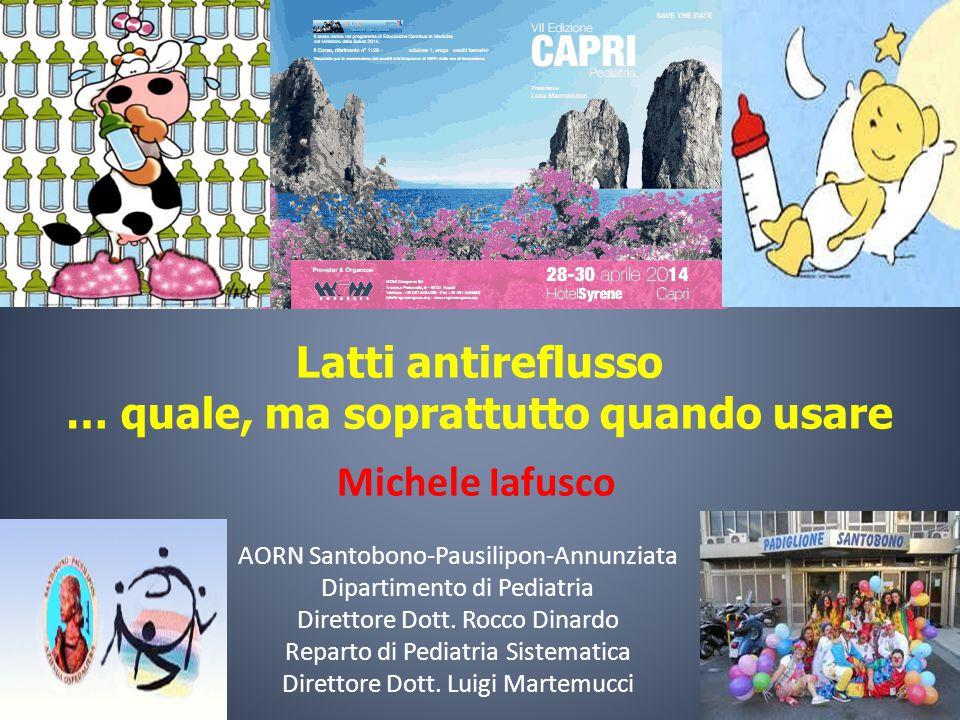 Michele Iafusco AORN Santobono-Pausilipon-Annunziata Dipartimento di Pediatria Direttore Dott. Rocco Dinardo Reparto di Pediatria Sistematica Direttor