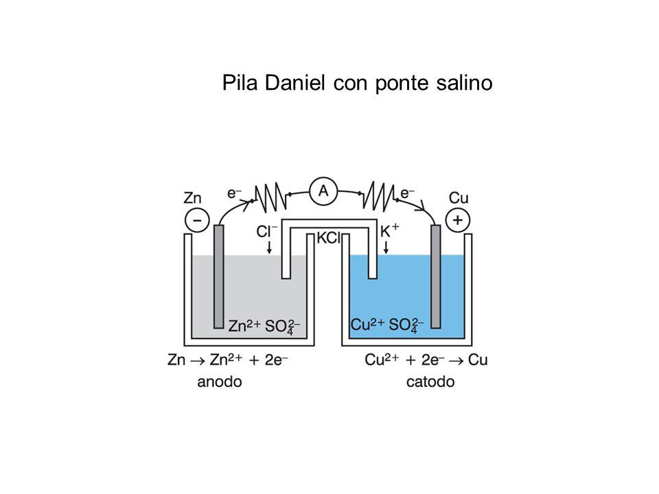Pila Daniel con ponte salino
