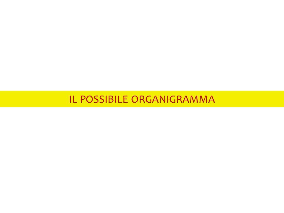 IL POSSIBILE ORGANIGRAMMA