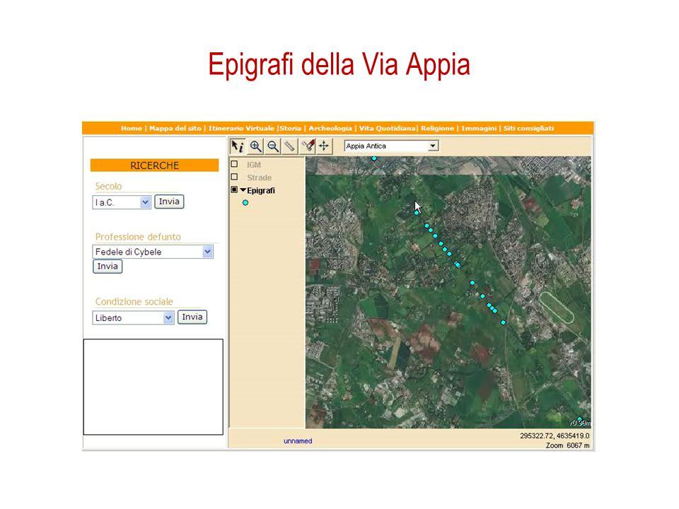 Epigrafi della Via Appia