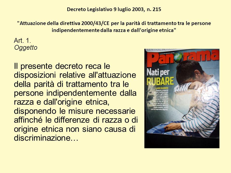 Decreto Legislativo 9 luglio 2003, n.