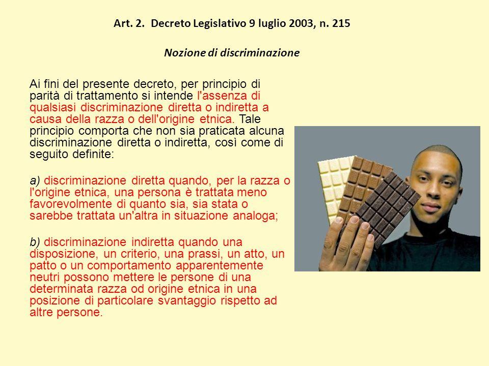 Art. 2. Decreto Legislativo 9 luglio 2003, n.