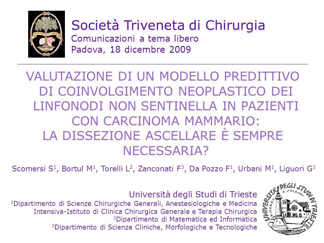 Biopsia del Linfonodo Sentinella accurata stadiazione trascurabile morbilità p.o.