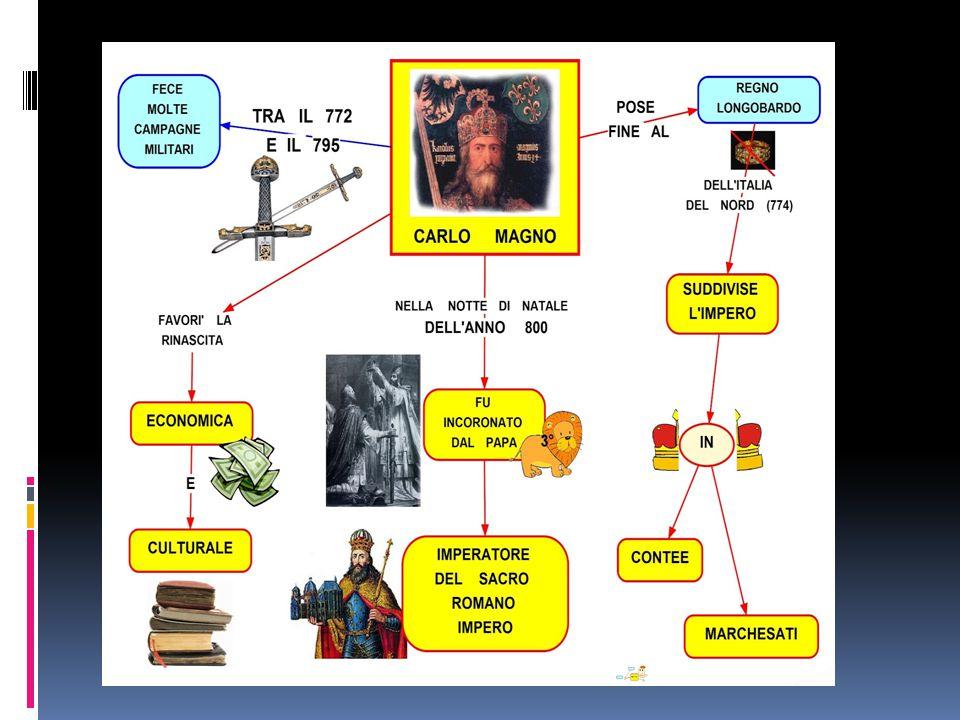 Le conquiste * Una lunga campagna (772-785) fu quella contro i Sassoni, che avevano sempre opposto resistenza al cattolicesimo.