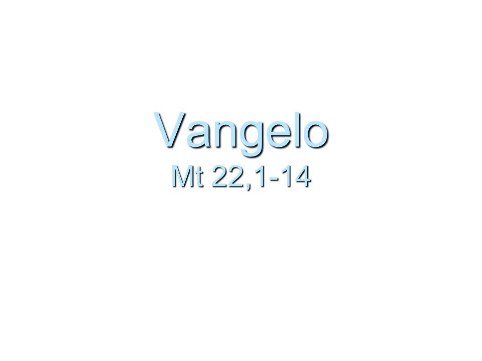 Vangelo Mt 22,1-14