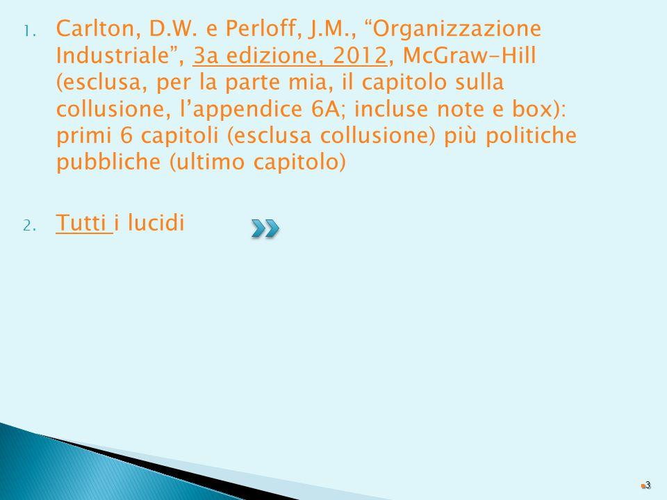 1.Carlton, D.W.