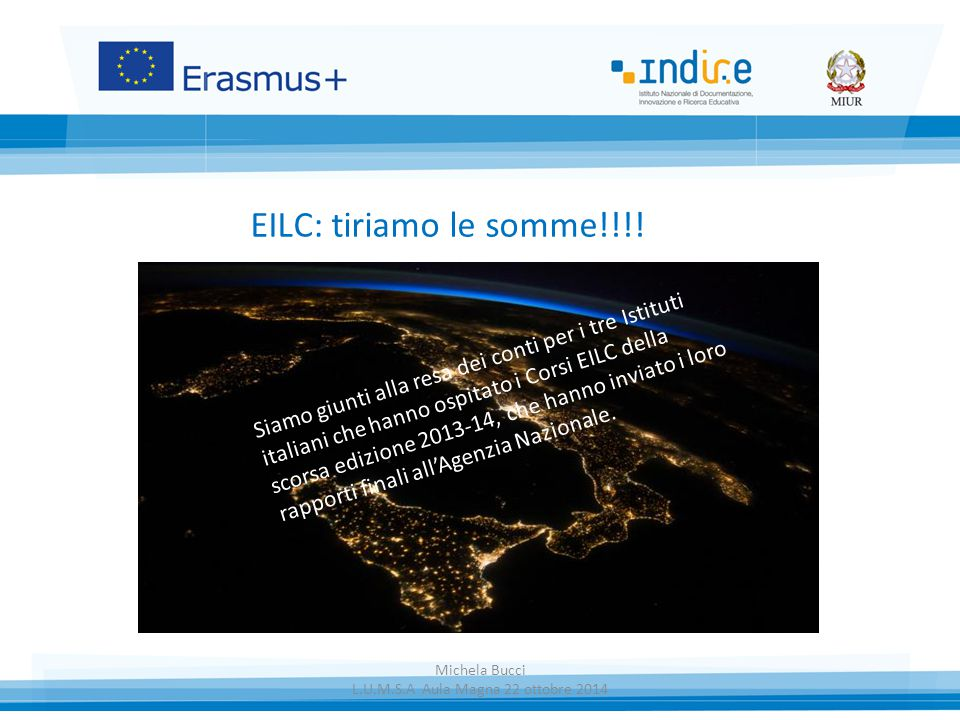 EILC: tiriamo le somme!!!.
