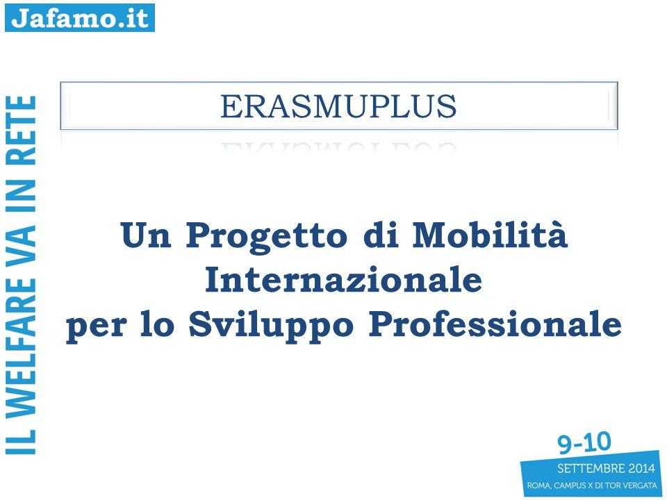 Un Progetto di Mobilità Internazionale per lo Sviluppo Professionale