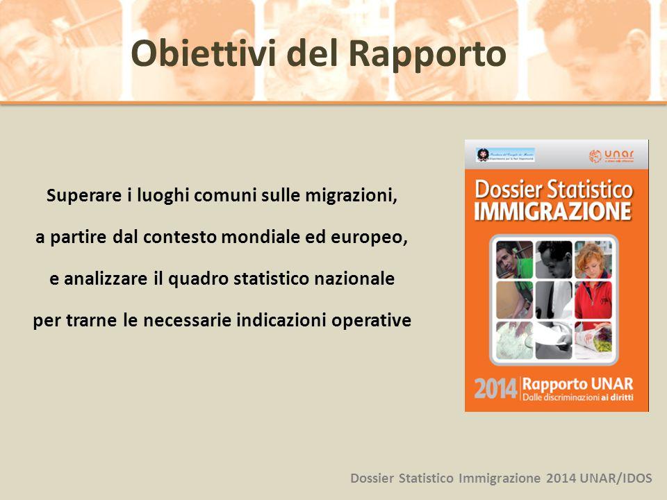 Superare i luoghi comuni sulle migrazioni, a partire dal contesto mondiale ed europeo, e analizzare il quadro statistico nazionale per trarne le neces