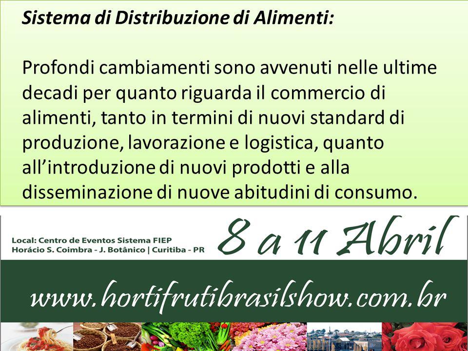SALONE DELLA DISTRIBUZIONE Spazio destinato alla presentazione in stand di imprese di Distribuzione – Ortaggi, Frutta, Fiori, Distributori di Alimenti.