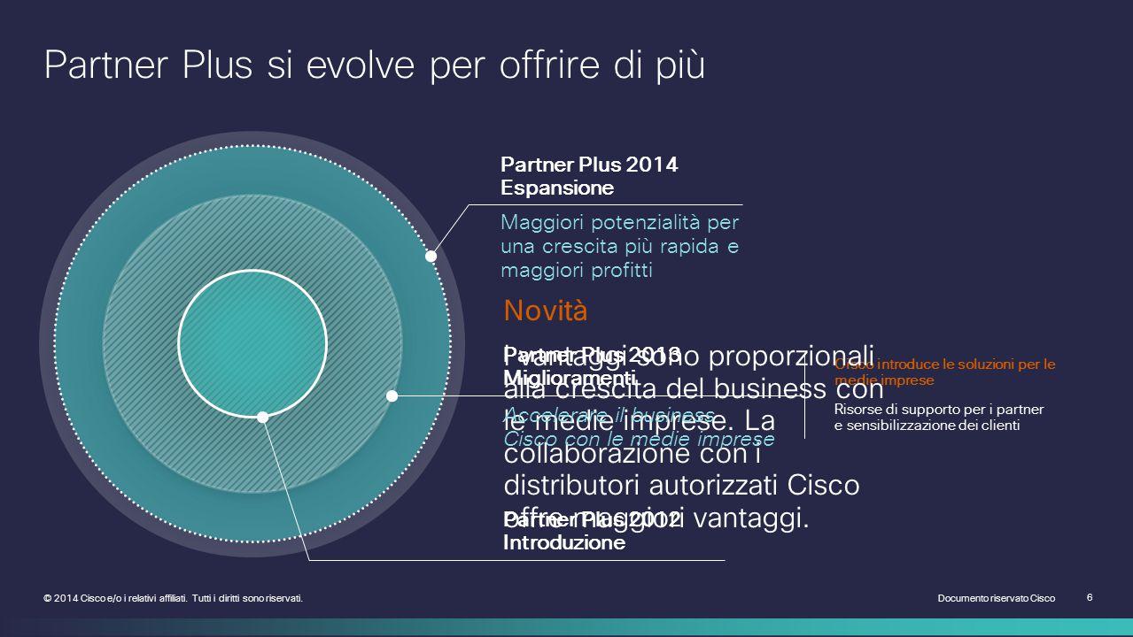 Documento riservato Cisco 17 © 2014 Cisco e/o i relativi affiliati.