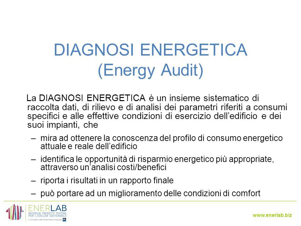 www.enerlab.biz 23 Gli indicatori energetici
