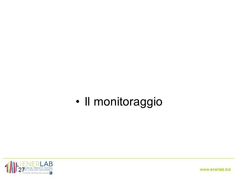 www.enerlab.biz 27 Il monitoraggio