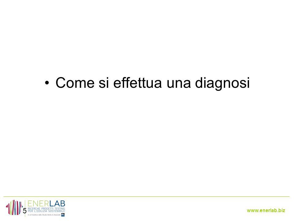www.enerlab.biz 5 Come si effettua una diagnosi