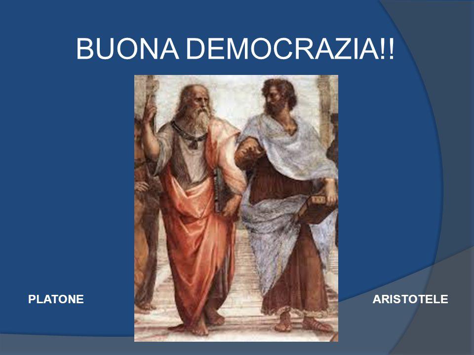 BUONA DEMOCRAZIA!! ARISTOTELEPLATONE