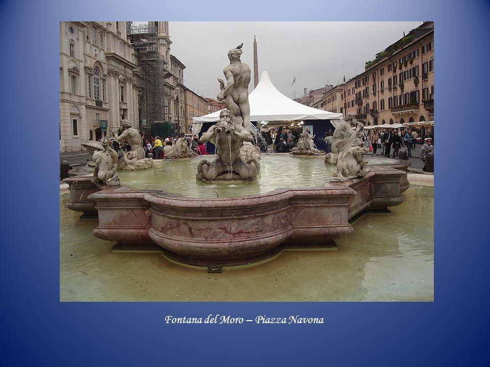 Bocca della Verità Fontana del Mosè Acqua PaolaFontana del Mascherone