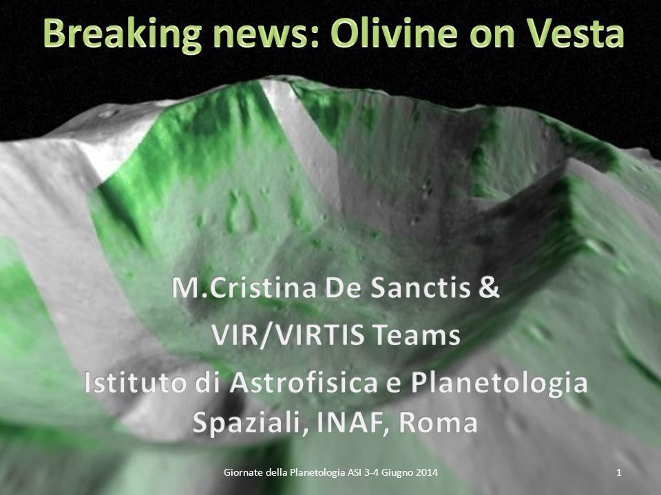 Giornate della Planetologia ASI 3-4 Giugno 20141