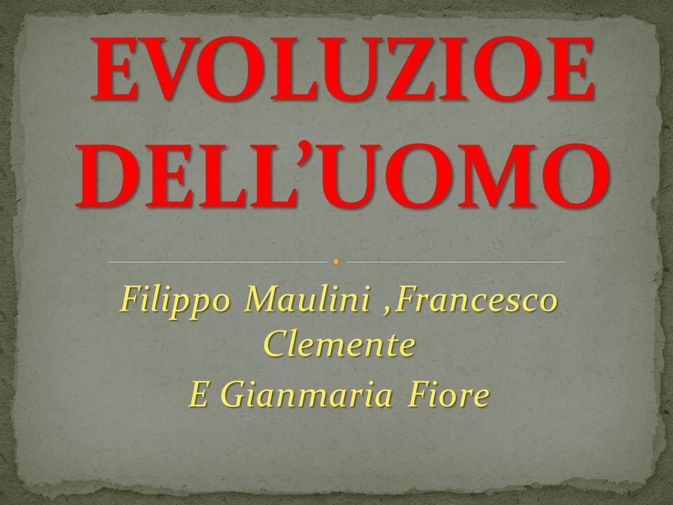 Filippo Maulini,Francesco Clemente E Gianmaria Fiore