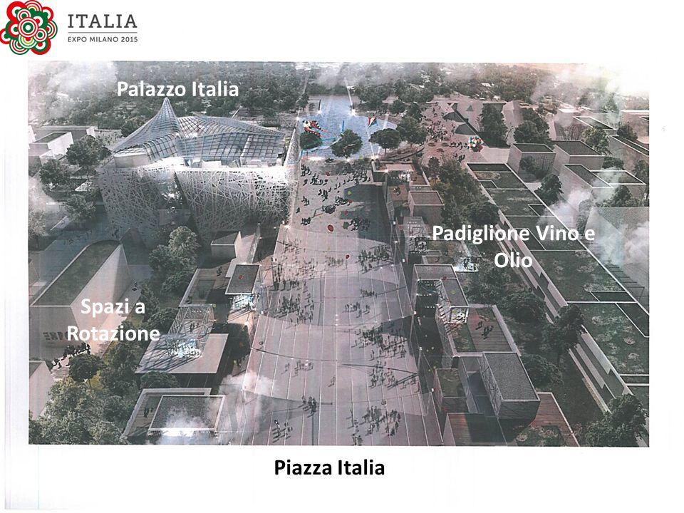 Palazzo Italia Piazza Italia Spazi a Rotazione Padiglione Vino e Olio