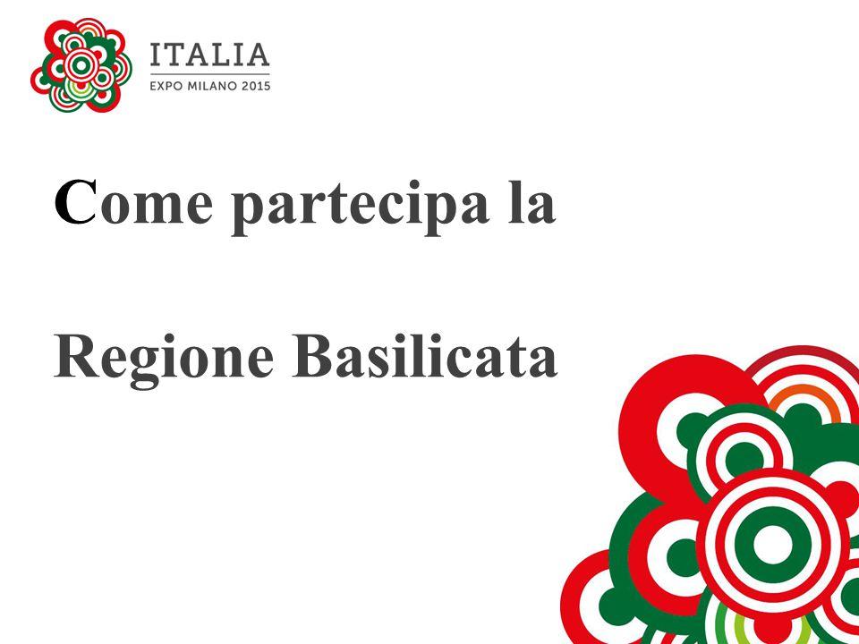 Come partecipa la Regione Basilicata