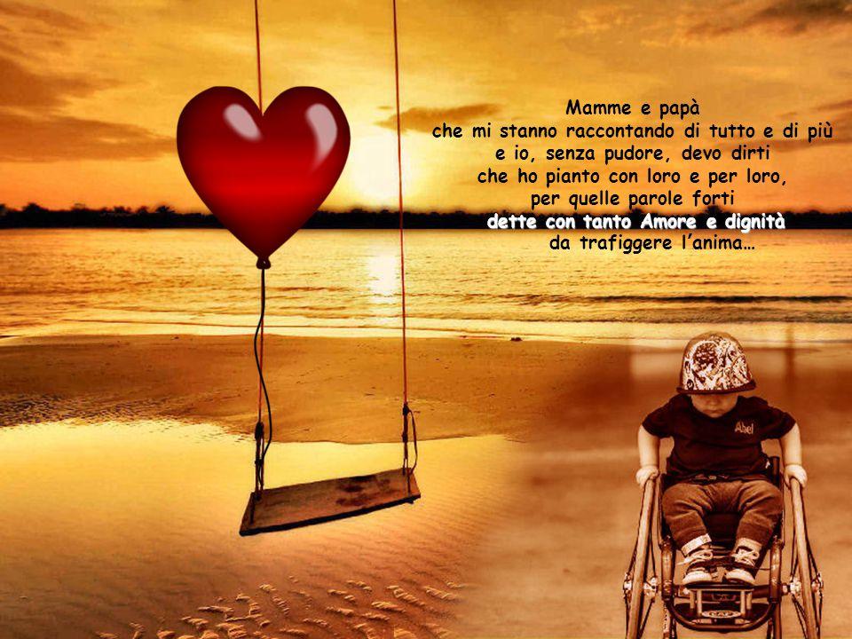a te e a tutti i genitori speciali: ai tuoi Angeli no, quelli li ho nel cuore anche quando dormo!!.