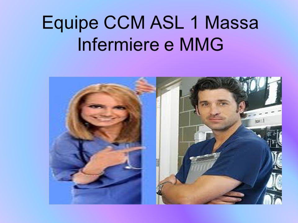 Equipe CCM ASL 1 Massa Infermiere e MMG