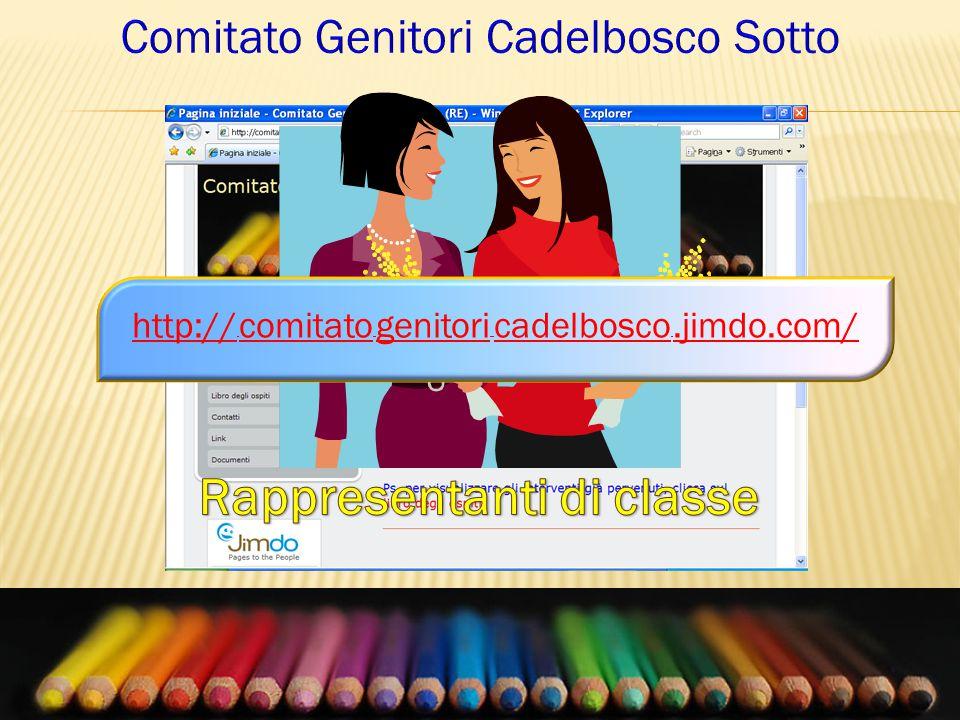 In quale modo opera il Comitato Genitori: http:// comitato genitori cadelbosco.jimdo.com/
