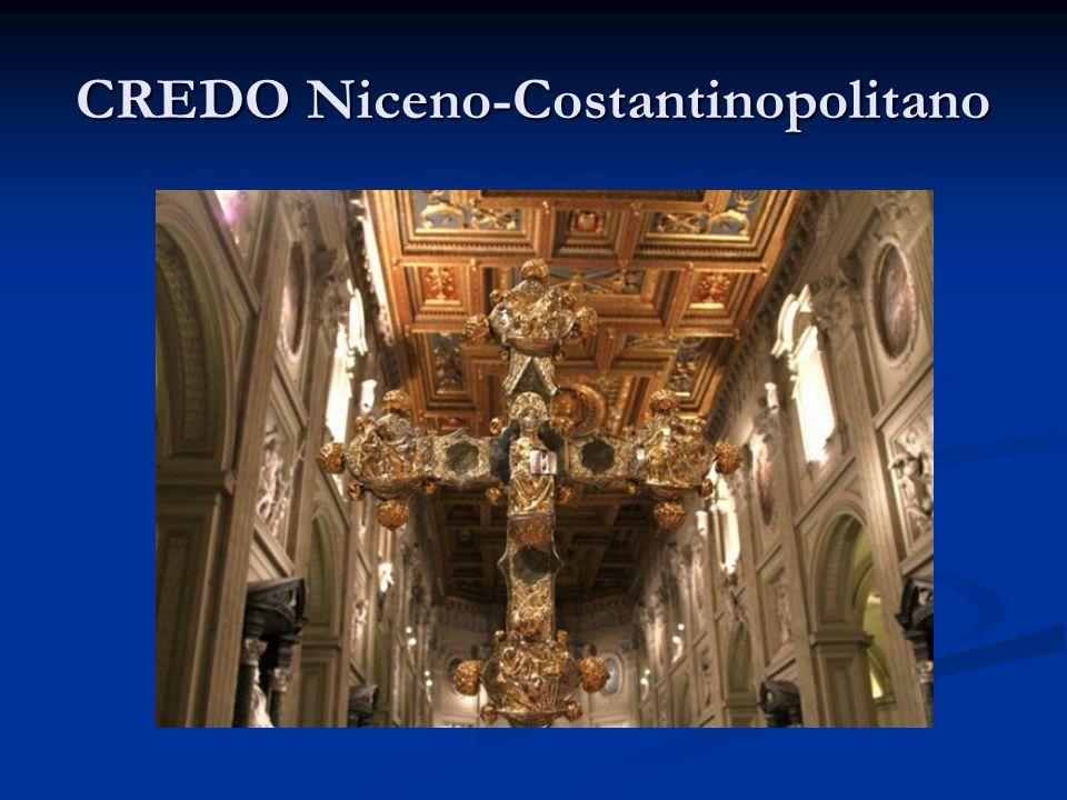 CREDO Niceno-Costantinopolitano