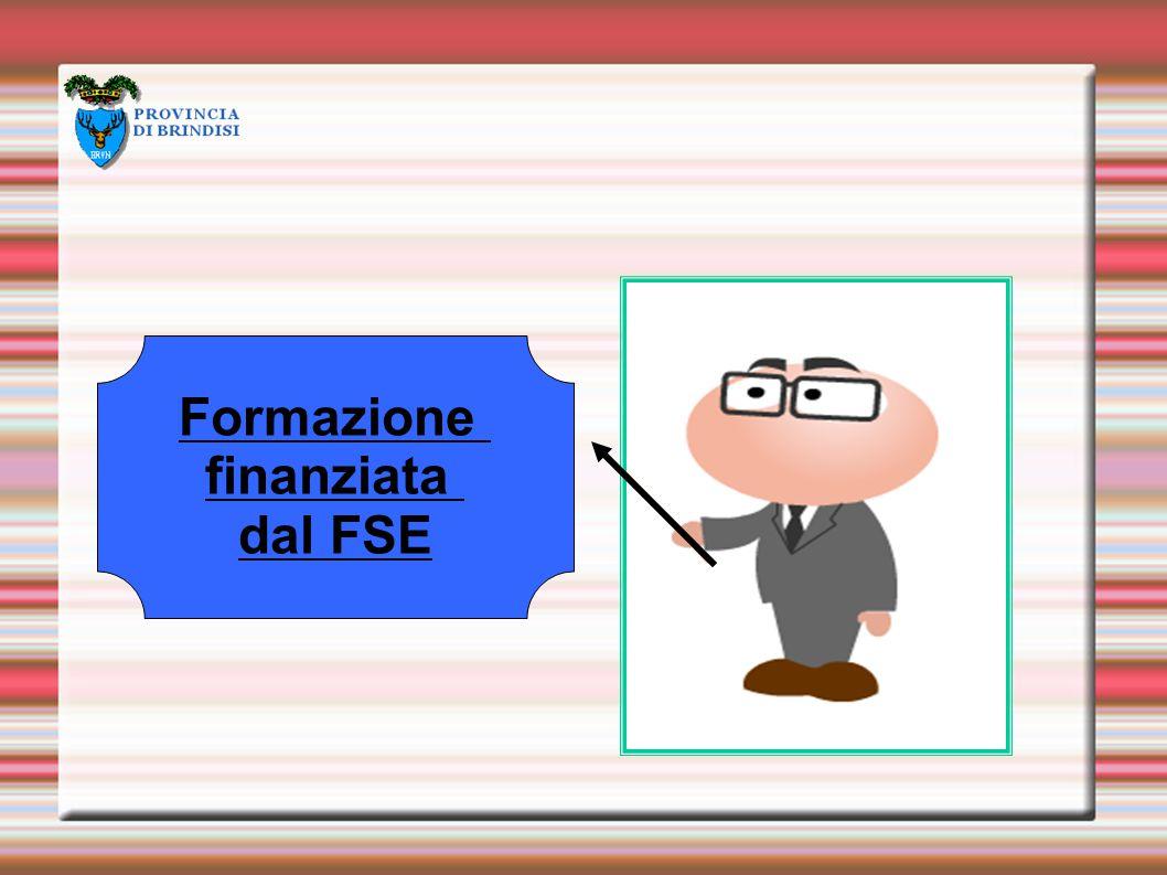 Formazione finanziata dal FSE