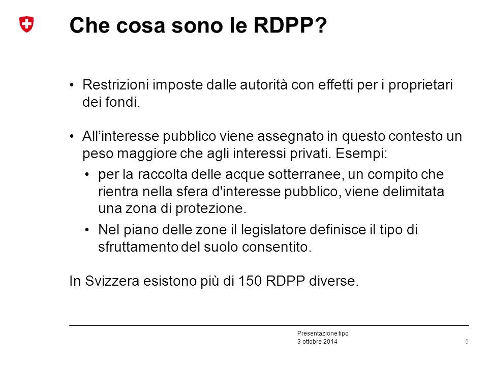 Presentazione tipo 3 ottobre 2014 Che cosa sono le RDPP.