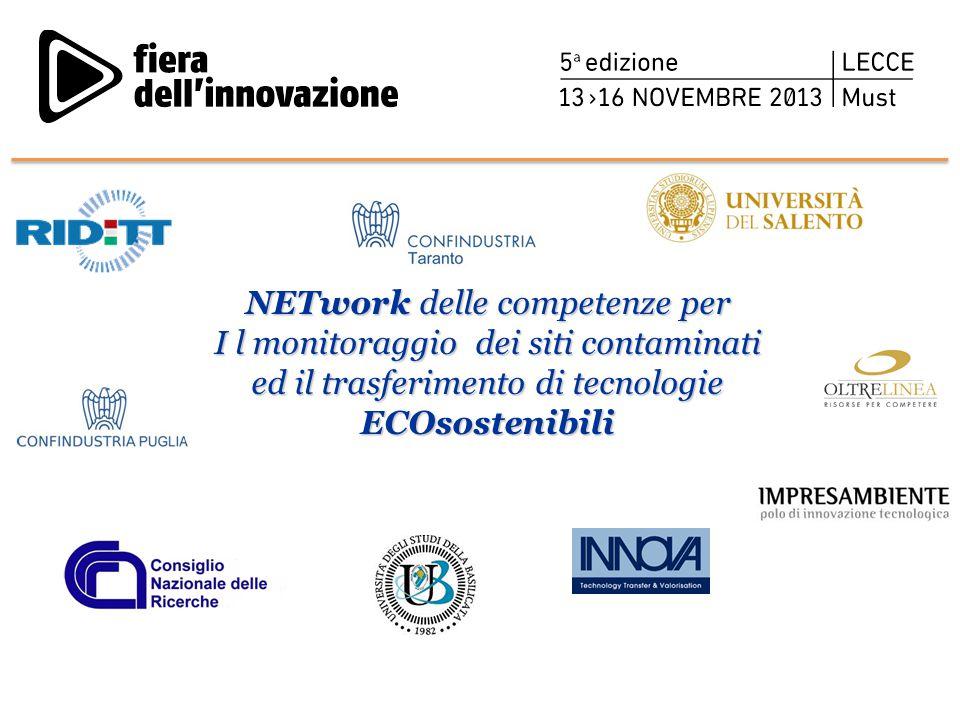 NETwork delle competenze per I l monitoraggio dei siti contaminati ed il trasferimento di tecnologie ECOsostenibili