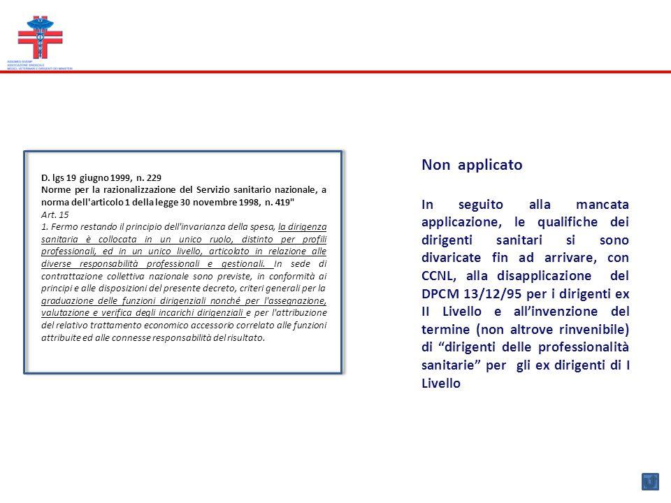 Decreto legislativo 30 marzo 2001, n.