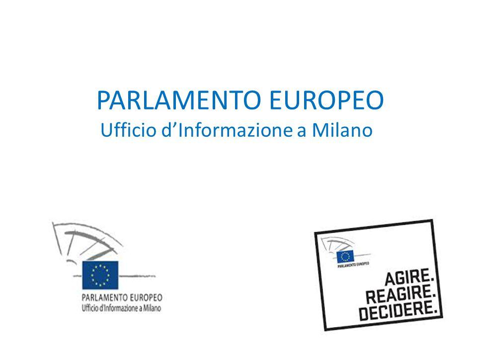 PARLAMENTO EUROPEO Ufficio d'Informazione a Milano