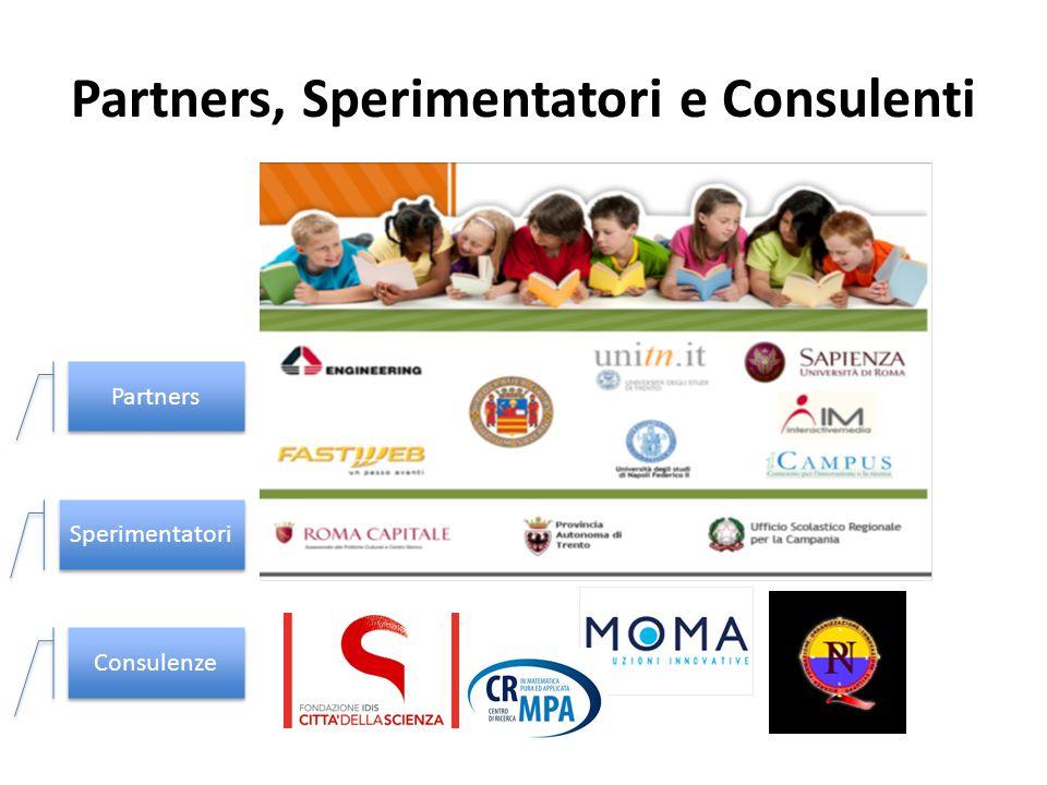 Partners, Sperimentatori e Consulenti Partners Sperimentatori Consulenze