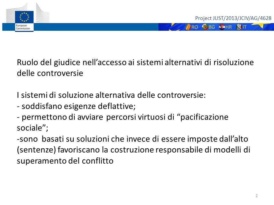Project JUST/2013/JCIV/AG/4628 3