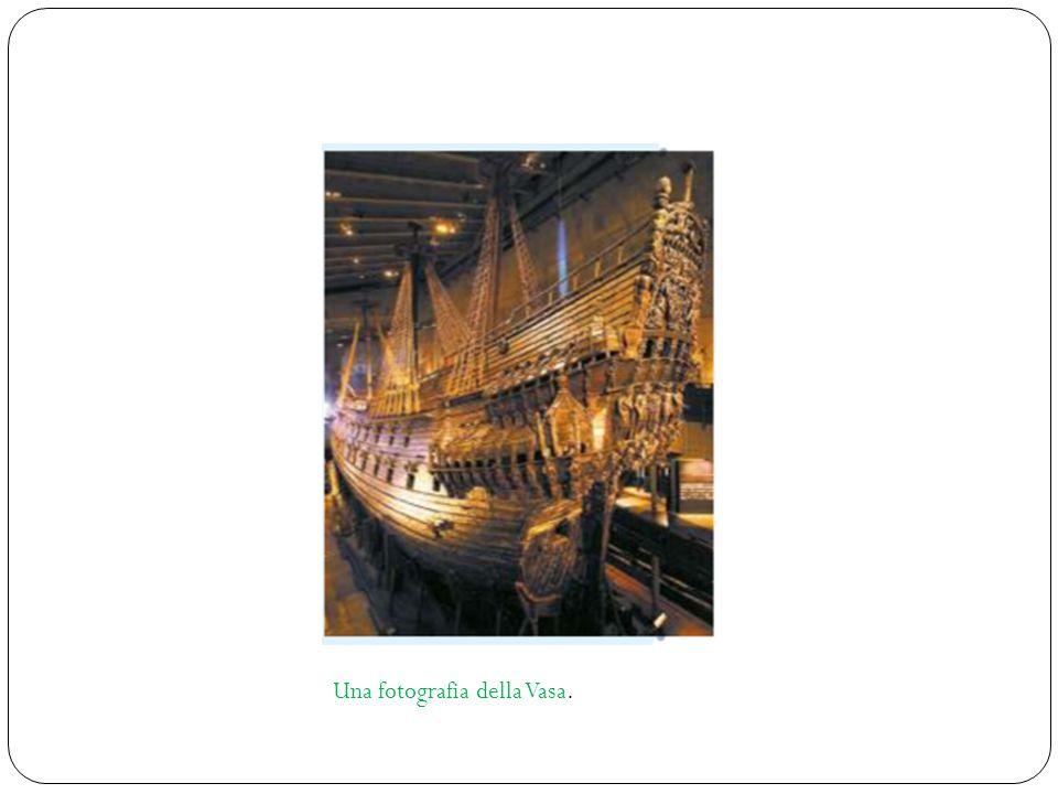 Una fotografia della Vasa.
