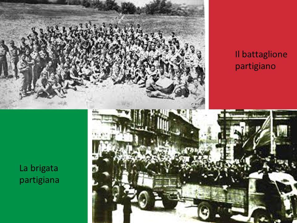 La divisione partigiana