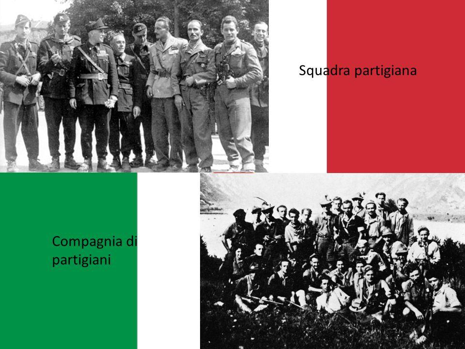 Compagnia di partigiani Squadra partigiana