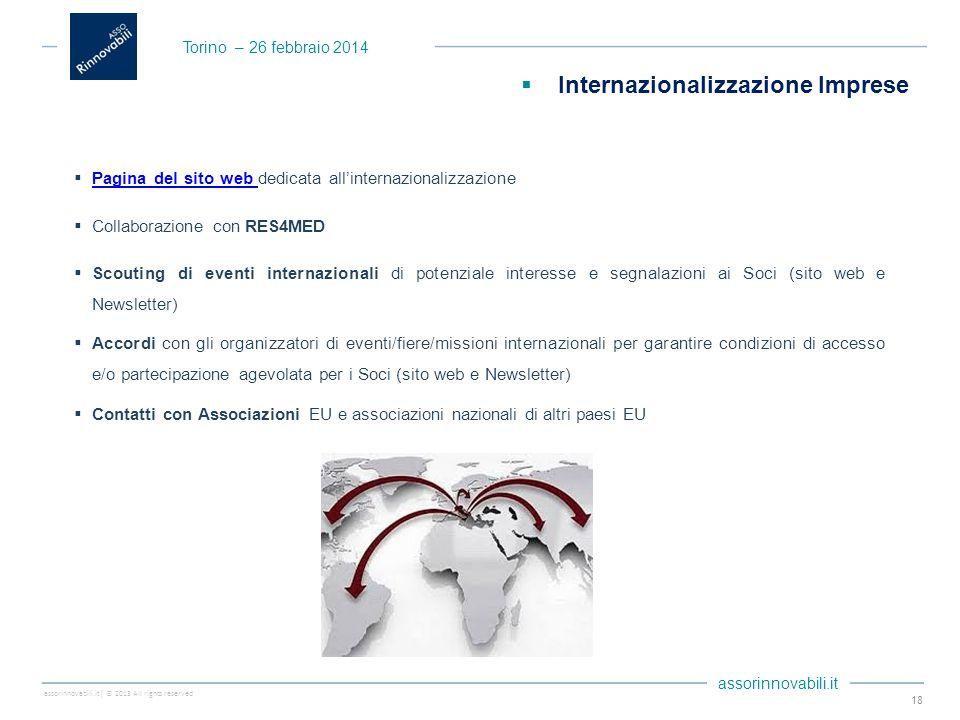 assorinnovabili.it| © 2013 All rights reserved assorinnovabili.it  Pagina del sito web dedicata all'internazionalizzazione Pagina del sito web  Coll