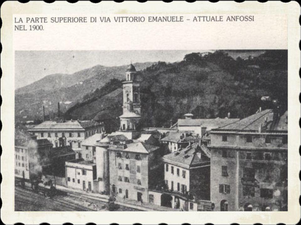 5)Un trentennio più tardi arrivavano i binari della strada ferrata, con la stazione per le merci e i viaggiatori, il deposito per le locomotive e l'of